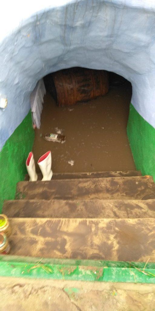 Наводнение в Кортене. Пострадали пятьдесят домовладений и домашняя птица